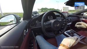شتاب گیری 0 تا 250 کیلومتر برساعت با کیا استینگر GT