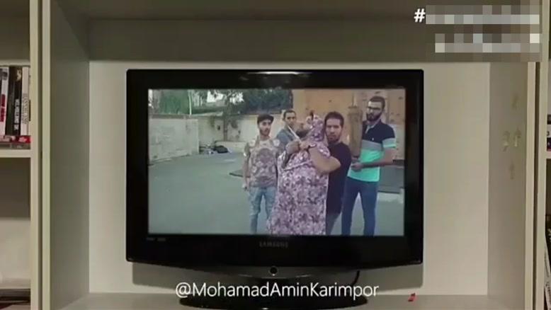 کلیپ محمد امین کریم پور نباید کانال رو عوض میکرد