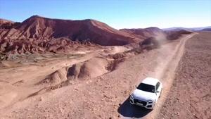 ویدئو آفرود با آئودی Q8