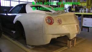 چگونگی طراحی و ساخت پانل های مفهوم بدنه ی ماشین از ابتدا  با خاک رس