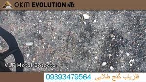 گنج طلایی 09224125314 - فلزیاب تصویری اولوشن | OKM Evolution NTX