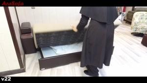 کاناپه  تختخوابشو ( تختخواب شو ) دونفره آرا سوفا ( مبل آرا ) مدل V۲۲