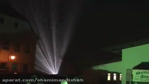 پروژکتور آسمانی شرکت نورپردازی شمیم اندیشه