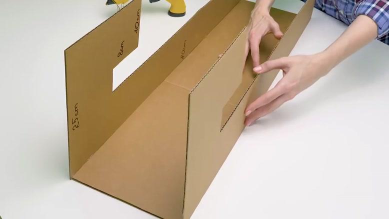 آموزش ساخت بولینگ با جعبه مقوایی