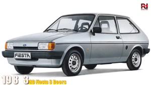 سیر تکاملی خودرو فورد ویستا ( Ford FIESTA ) از سال ۱۹۷۶-۲۰۱۹