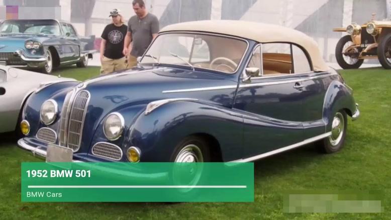 سیر تکاملی ماشین BMW  از سال ۱۹۲۹ - ۲۰۱۹