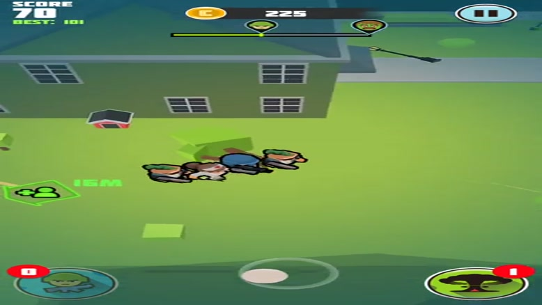 تریلر بازی موبایل Zombie Haters