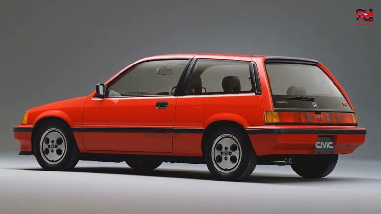 سیر تکاملی خودرو هوندا از سال ۱۹۷۲-۲۰۱۹