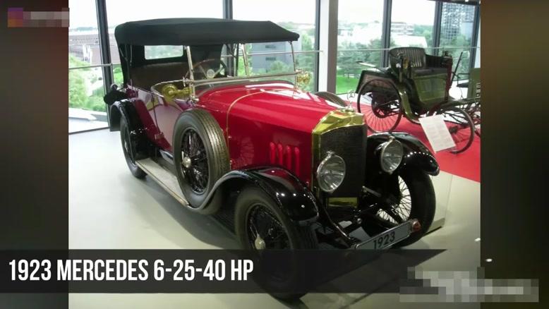 سیر تکاملی خودرو مرسدس بنز از سال ۱۸۸۶ - ۲۰۱۹