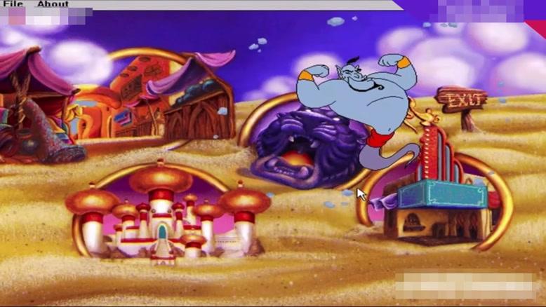 سیر تکاملی بازی Aladdin  از سال ۱۹۹۳ - ۲۰۱۸