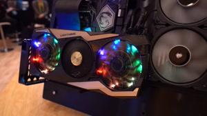 معرفی نسل جدید کارت گرافیک MSI GeForce RTX 2080 در نمایشگاه CES2019