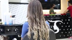 آموزش شنیون ویژه موهای کم حجم