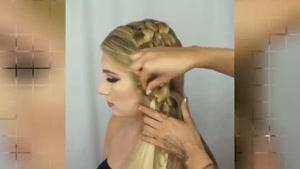 ترفندهای خلاقانه برای شنیون مو