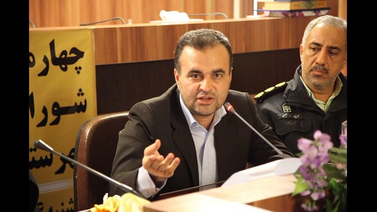 بخش دوم سخنان فرماندار شهرستان بوکان در چهارمین جلسه شورای اداری