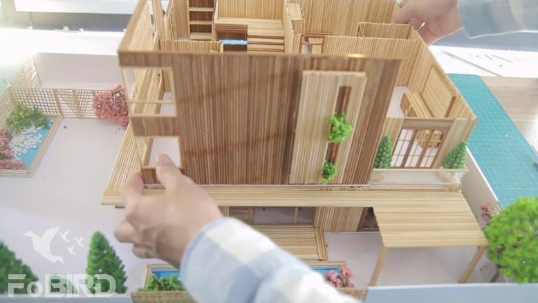 عمارت مجلل چوبی