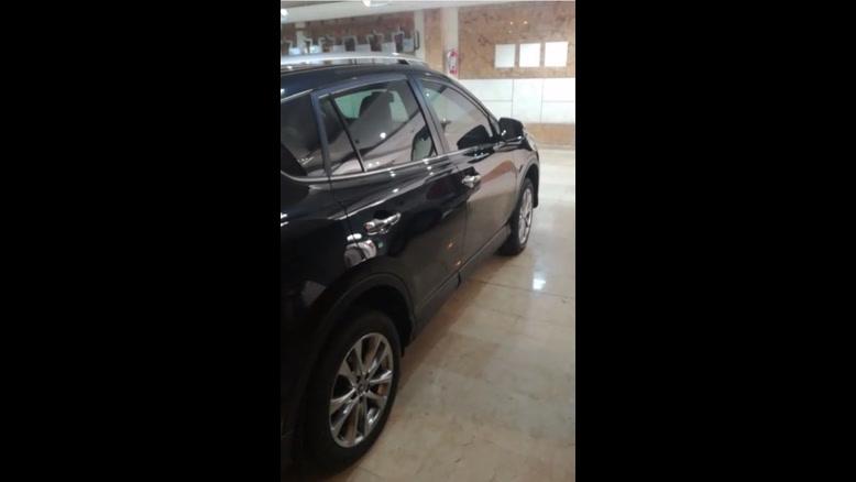 ریکاوری رنگ بدنه خودرو تویوتا RAV4 توسط کاربوی