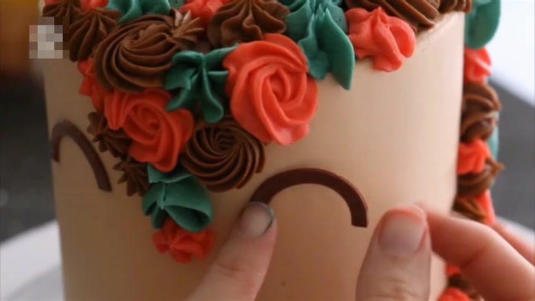 تزیین کیک ویژه دختر بچه ها