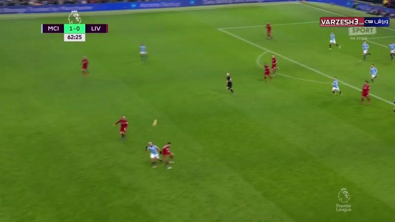 خلاصه بازی منچسترسیتی 2 - لیورپول 1