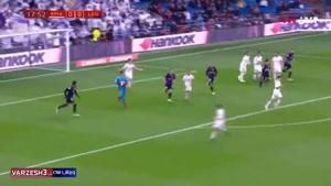 خلاصه بازی رئال مادرید 3 - لگانس 0