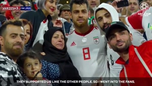 مصاحبه دوربین AFC با مرتضی پورعلی گنجی