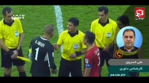 واکنش تند خسروی به حضور کم رنگ فغانی در جام ملت ها