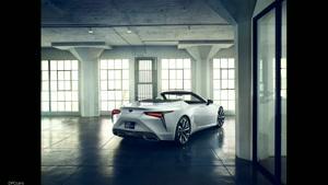 لکسوس مدل ال سی Lexus LC Convertible
