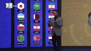 حریف  احتمالی مقابل ایران درمرحله حذفی جام ملتهای آسیا 2019