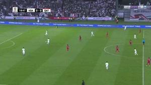 بازی کامل عربستان 0-2 قطر