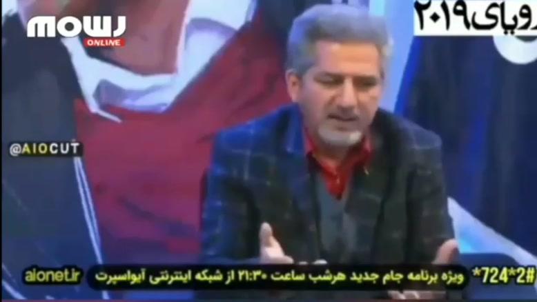 توهین های این شخص در برنامه زنده به کیروش