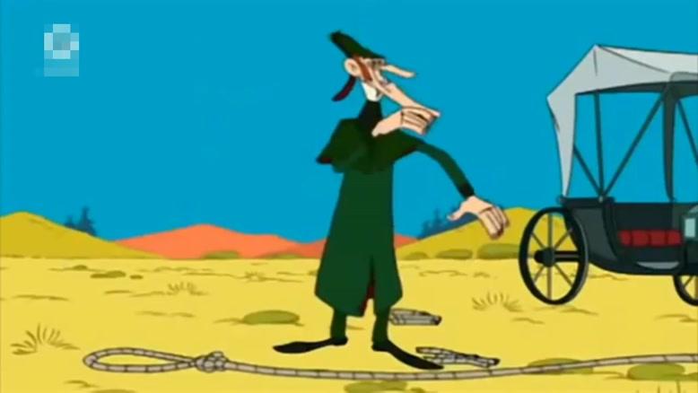 انیمیشن لوک خوش شانس دوبله فارسی قسمت سه