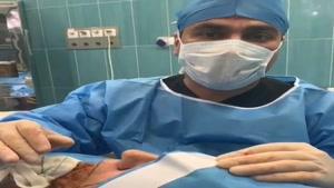 جراحی لیفت صورت در اتاق عمل
