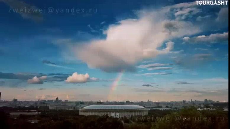 مسکو، یکی از بزرگ ترین شهرهای توریستی روسیه