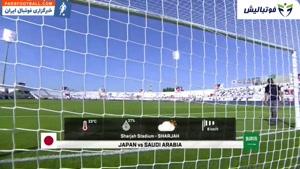 خلاصه بازی ژاپن 1- عربستان 0