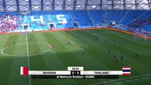خلاصه بازی بحرین  ۰- تایلند ۱ ( جام ملت های آسیا )