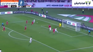 خلاصه بازی اردن ۲-۰ سوریه ؛ جام ملت های آسیا