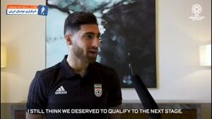 مصاحبه AFC با علیرضا جهانبخش قبل از دیدار با عراق