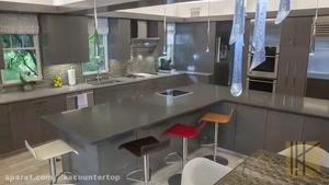 کوارتز سنگی مناسب برای کابینت آشپزخانه