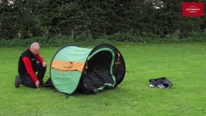 چادر مسافرتی فنری دو نفره ایزی کمپ