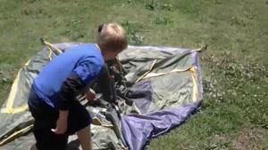 چادر مسافرتی اتوماتیک 4 نفره کینگ کمپ