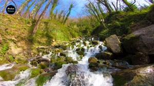 تصاویر زیبایی ازآبشار آب پری