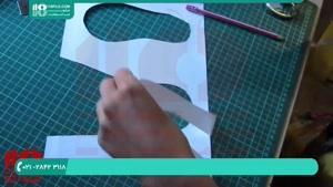 از سری آموزش های ساخت عروسک با لوازم دم دست - ساخت چکمه