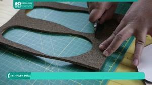ساخت صندل چرمی با دست