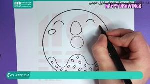 آموزش نقاشی به کودکان با ابزار دم دست