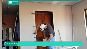 زیر سازی دیوار و سقف برای کناف کاری