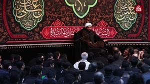 سخنرانی حجت الاسلام شیخ هادی الیاسی پایان ماه صفر ۹۸