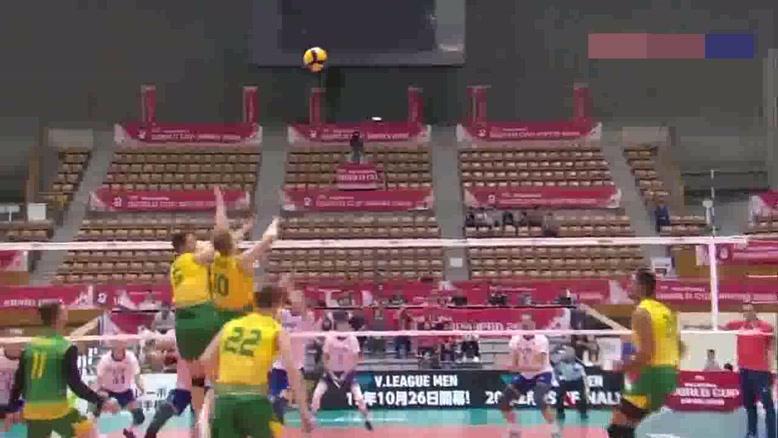 خلاصه بازی والیبال روسیه - استرالیا