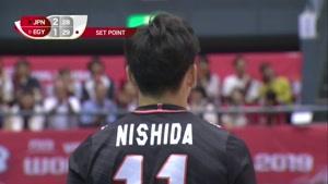 خلاصه بازی والیبال ژاپن و مصر