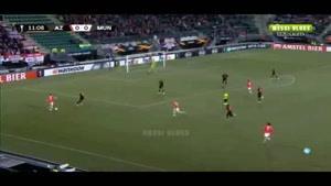 خلاصه بازی منچستریونایتد و آلکمار لیگ اروپا ۲۰۱۹