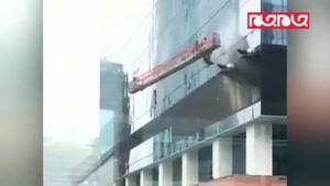 حادثه وحشتناک دستگاه بالابر شیشه پاککنها