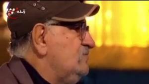 گریههاداریوش ارجمند در برنامه زنده تلویزیونی در حرم امام رضا (ع)